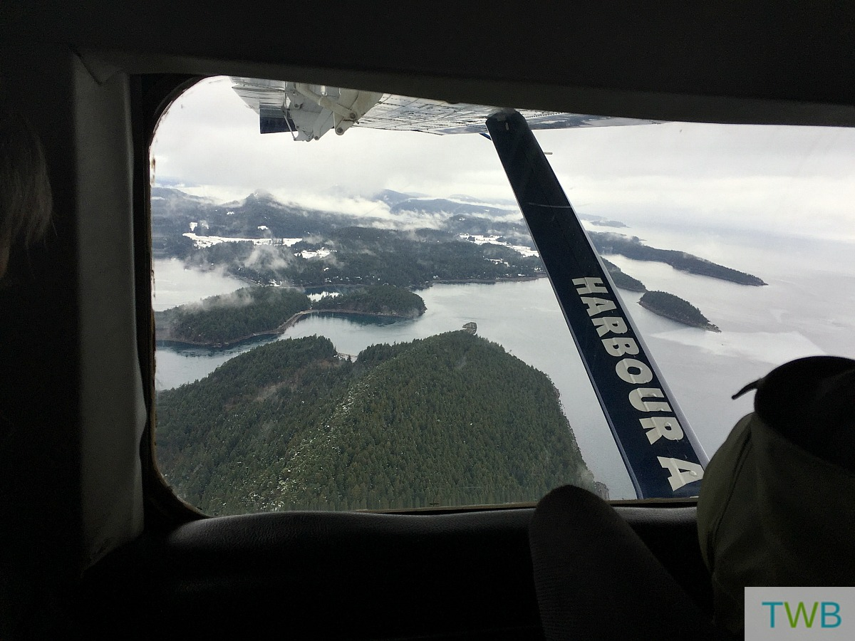 Victoria - view from the seaplane