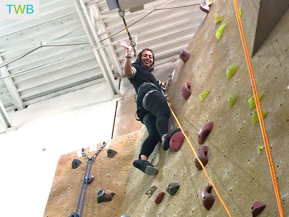 41 st birthday - rock climbing