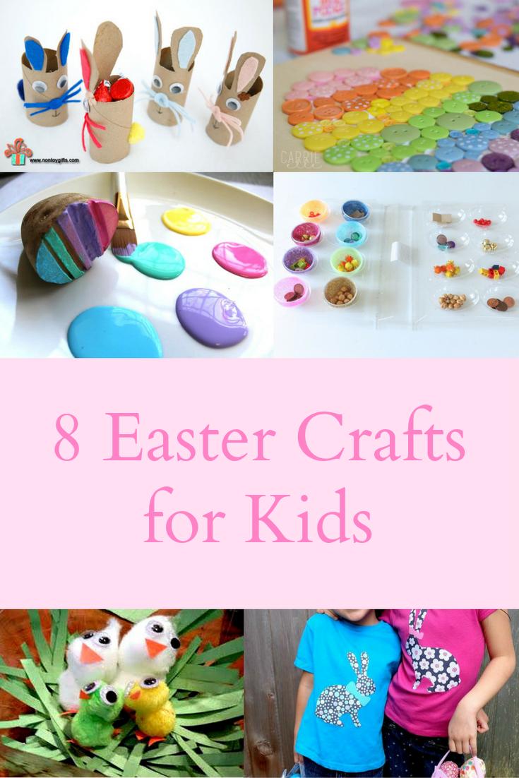 8 Easter Crafts for Kids