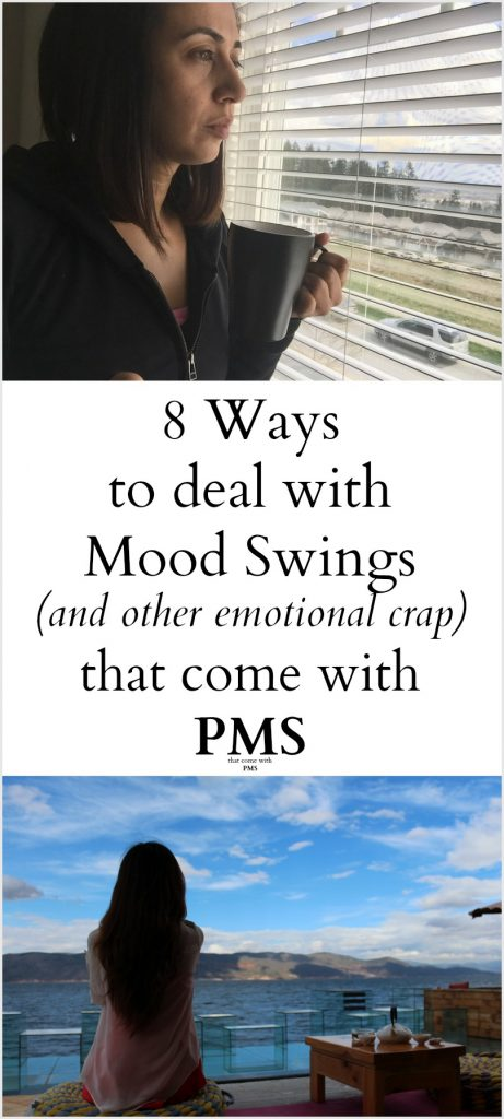 8 Ways to deal with pms mood swings