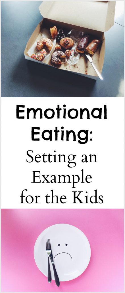Emotional Eating - Setting an Example for the Kids