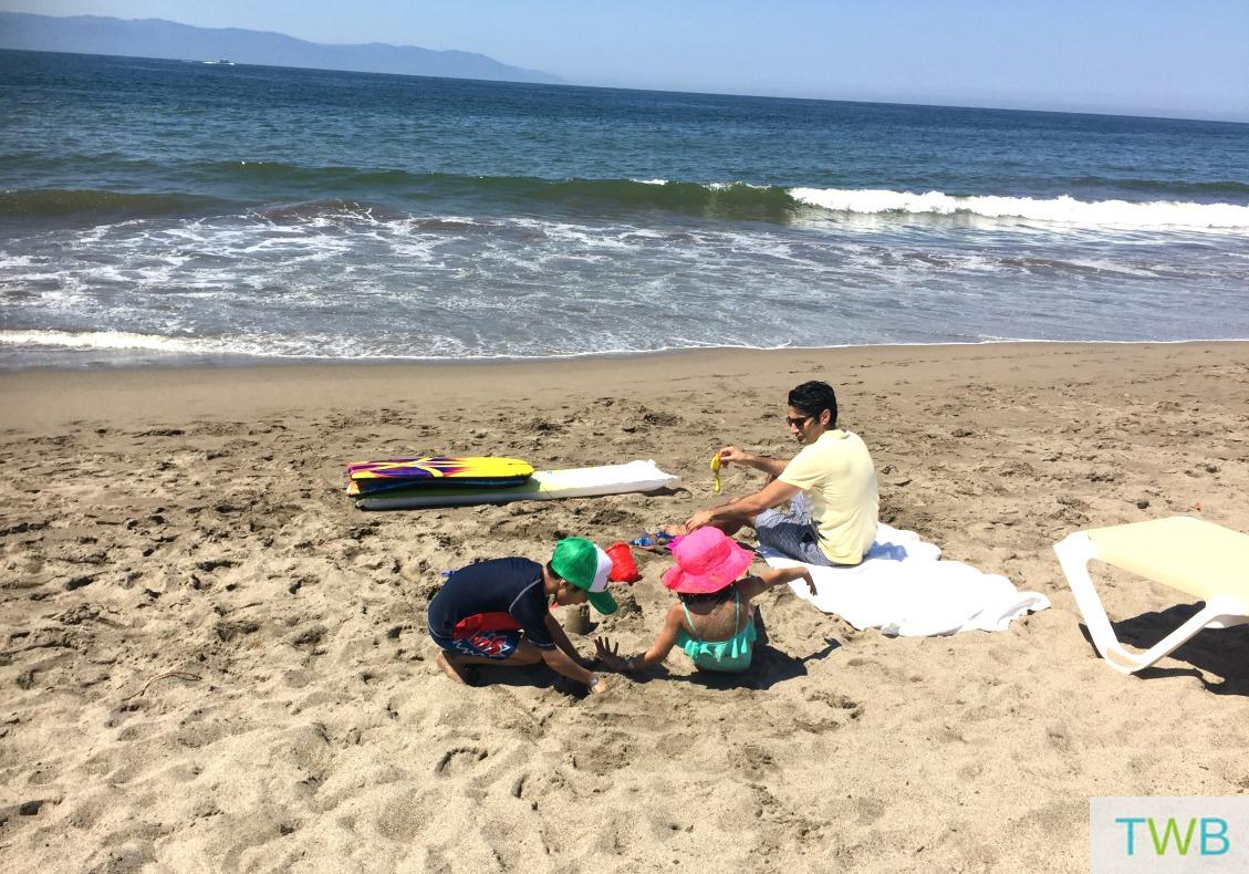 Family Vacation - beach