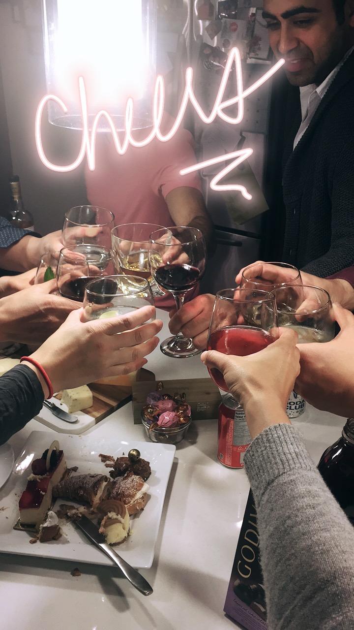 41st birthday drinks