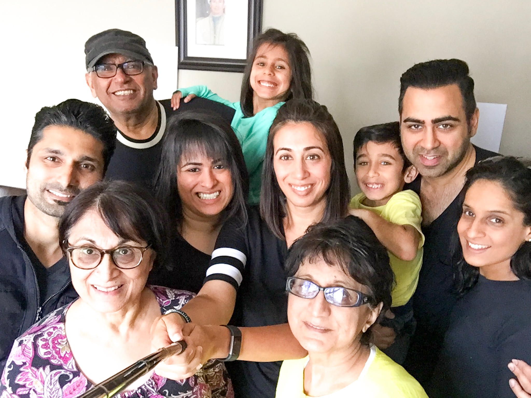 41st birthday - with family