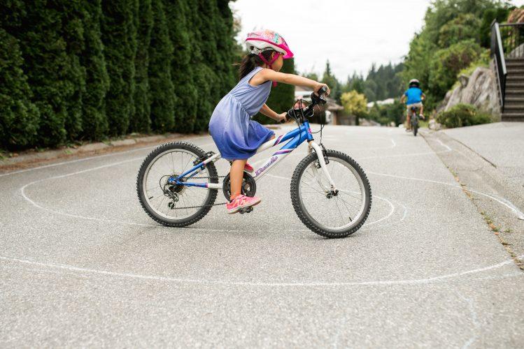Chalk Bike Track