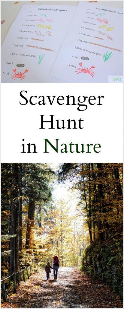 Scavenger Hunt in Nature