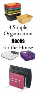 4 Simple Organization Hacks for the House