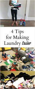 4 Tips for Making Laundry Easier