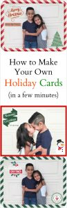 Easy DIY Family Holiday Cards