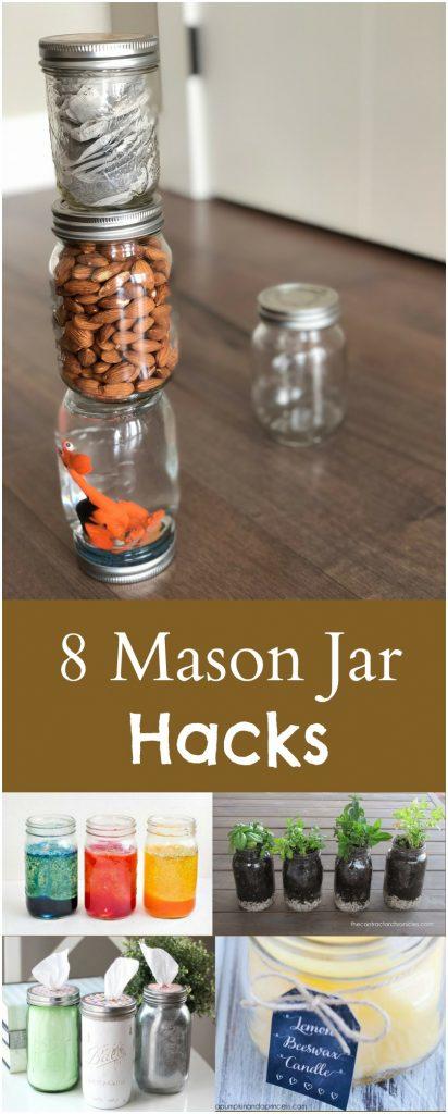 8 Mason Jar Hacks You Should Try