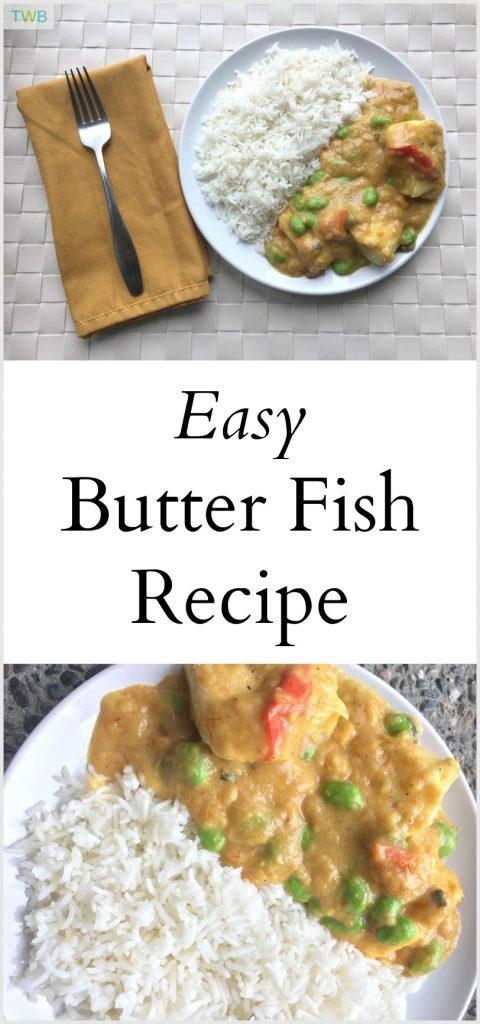 Easy butter fish recipe