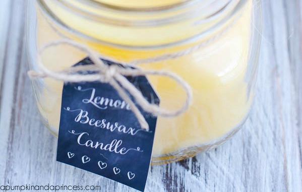 Mason Jar Hacks - homemade candles