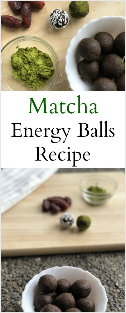 Matcha Energy Balls Recipe