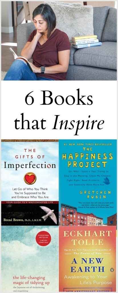 6 Books that Inspire
