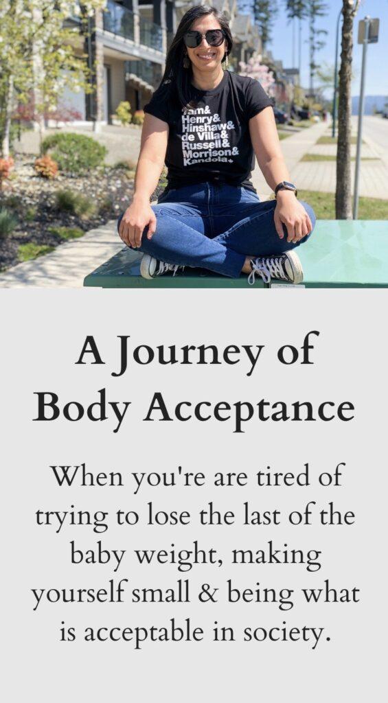 A Journey of Body Acceptance - Pinterest