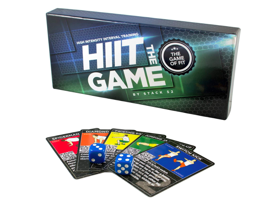 Fitness Gift Ideas - HIIT board game