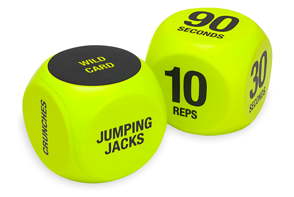 Fitness Gift Ideas - Workout Dice