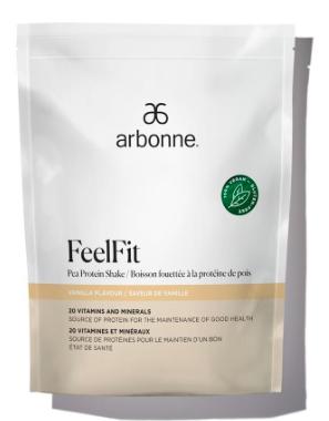 FeelFit Pea Protein Shake - Plant Based Protein Powder
