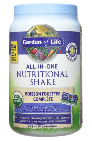 Plant Based Protein Powder - Garden of Life
