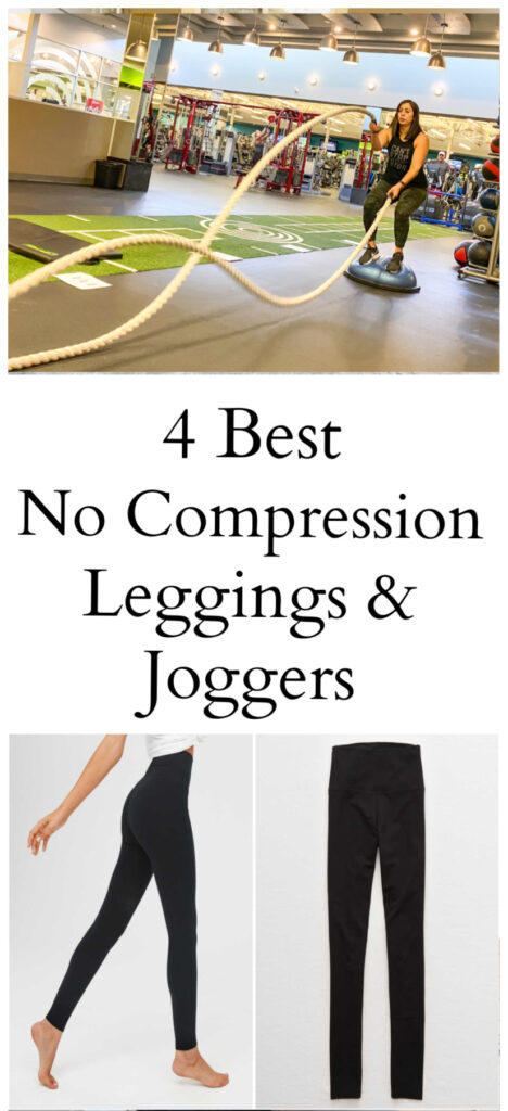 Best No Compression Leggings & Joggers